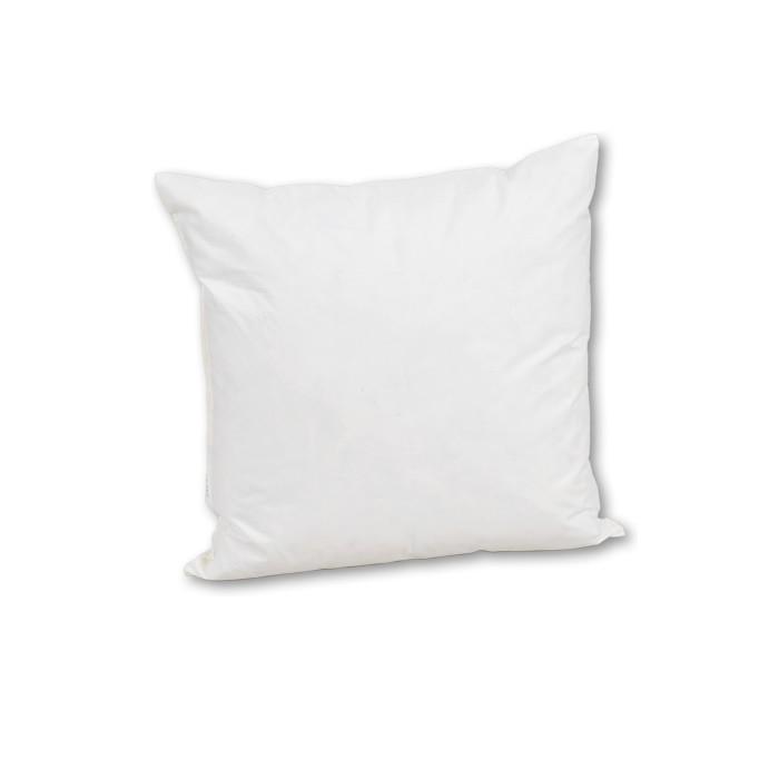 Sofakissen 45x45 in weiß oder creme mit 450g Füllung Daunen
