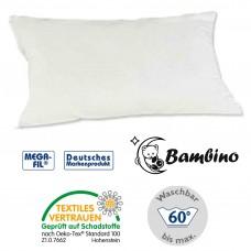 Badenia irisette Kinderkopfkissen - Bambino weiß 40x60cm