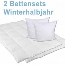 Bettenset Winterhalbjahr - für 2 Personen-2xHW46001HW80800