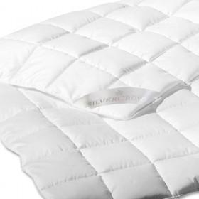 Sommer-Daunendecke POSEN - 155x200cm weiß 90% Daunen 10% Federn